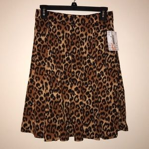NWT Leopard Print Madison LuLaRoe Skirt